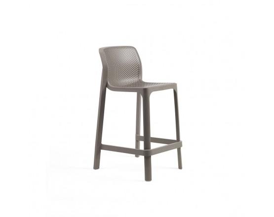 Барный стул  Net Stool Mini Tortora: фото - магазин CANVAS outdoor furniture.
