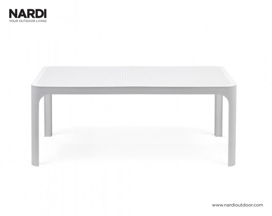 Стол Net Table 100 Bianco: фото - магазин CANVAS outdoor furniture.