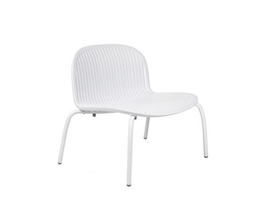 Стул Ninfea Relax Bianco Verniciato: фото - магазин CANVAS outdoor furniture.
