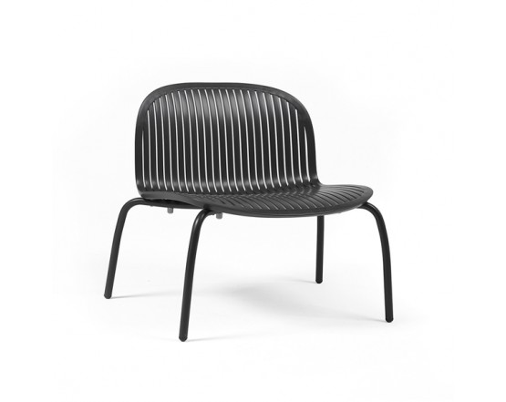 Стул Ninfea Relax Antracite Verniciato: фото - магазин CANVAS outdoor furniture.