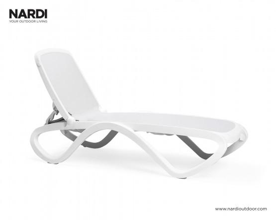 Шезлонг Omega Bianco Bianco: фото - магазин CANVAS outdoor furniture.