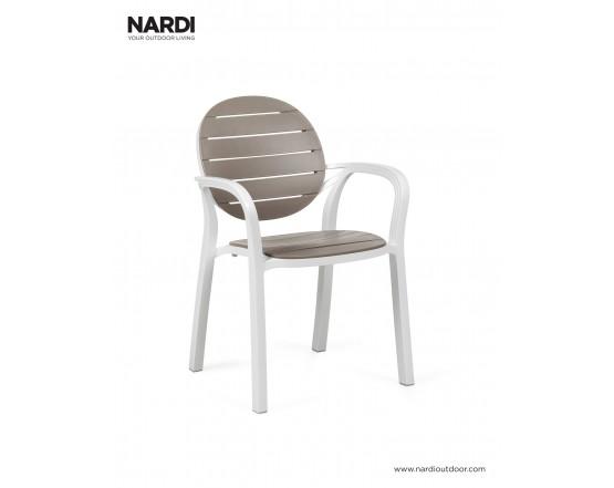 Кресло Palma Bianco Tortora: фото - магазин CANVAS outdoor furniture.