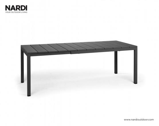 Стол Rio 140 Extensible Antracite Vern Antracite: фото - магазин CANVAS outdoor furniture.