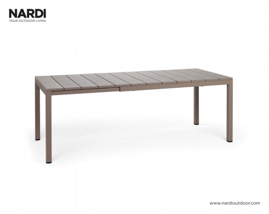 Стол Rio 140 Extensible Tortora Vern Tortora: фото - магазин CANVAS outdoor furniture.