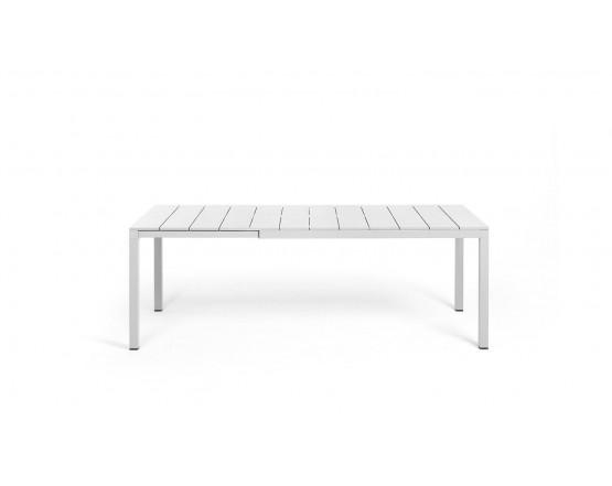 Стол Rio Alu 140 Extensible Bianco Vern Bianco: фото - магазин CANVAS outdoor furniture.