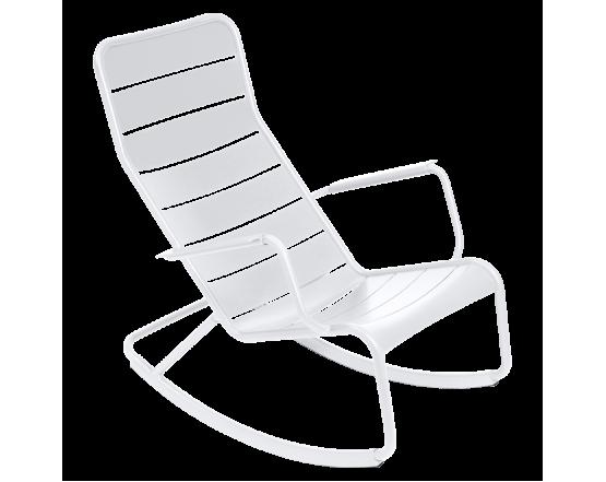 Кресло-качалка Luxembourg Cotton White: фото - магазин CANVAS outdoor furniture.