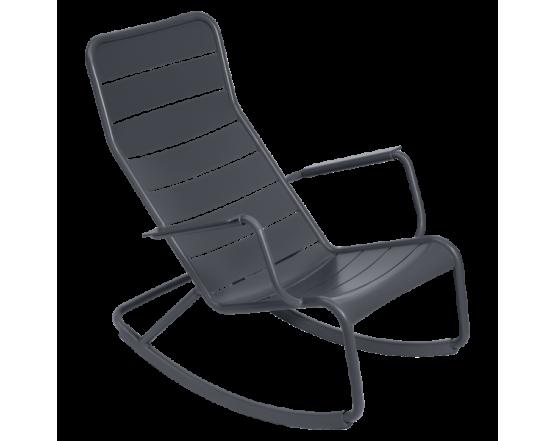 Кресло-качалка Luxembourg Antracite: фото - магазин CANVAS outdoor furniture.