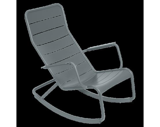 Кресло-качалка Luxembourg Storm Grey: фото - магазин CANVAS outdoor furniture.