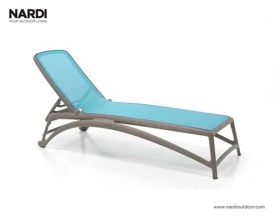 Шезлонг Atlantico Tortora Celeste: фото - магазин CANVAS outdoor furniture.