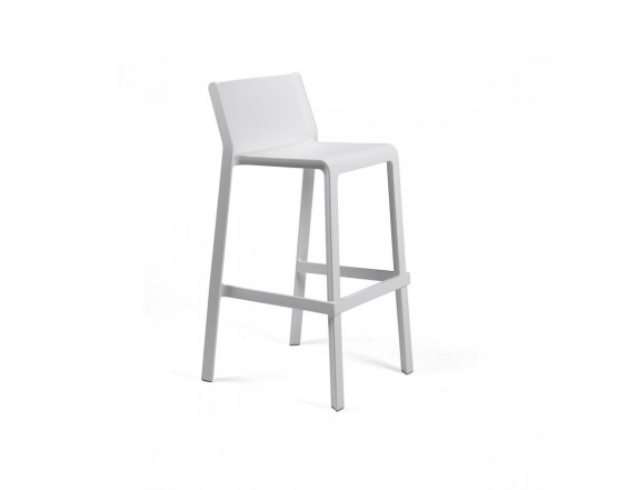 Барный стул Trill Stool Bianco: фото - магазин CANVAS outdoor furniture.